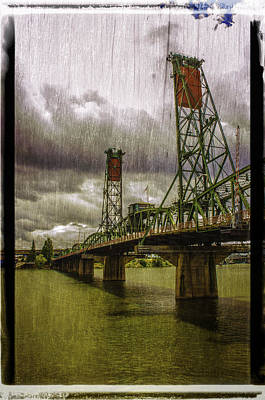 Photograph - Bridge 4 Of Portland by Craig Perry-Ollila