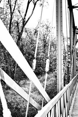 Bridge Abstract Print by Melinda Pettery