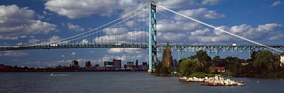 Bridge Across A River, Ambassador Print by Panoramic Images