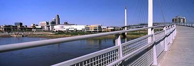 Bridge Across A River, Bob Kerrey Art Print by Panoramic Images