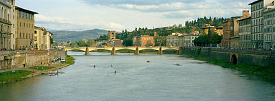 Bridge Across A River, Ponte Alle Art Print by Panoramic Images