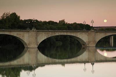 Bridge Across A River, Puente De Art Print
