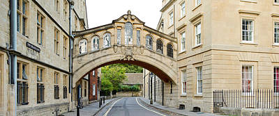 Great Cities Universities Photograph - Bridge Across A Road, Bridge Of Sighs by Panoramic Images