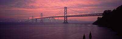 Bay Bridge Photograph - Bridge Across A Sea, Bay Bridge, San by Panoramic Images