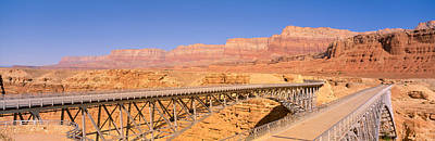 Civil Engineering Photograph - Bridge Across The Colorado River, Lees by Panoramic Images