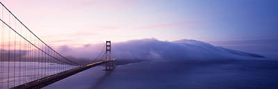 Golden Gate Photograph - Bridge Across The Sea, Golden Gate by Panoramic Images