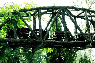 Photograph - Bridge Among The Trees by Linda Cox