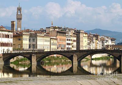 Photograph - Florence - Ponte Alla Carraia by Phil Banks