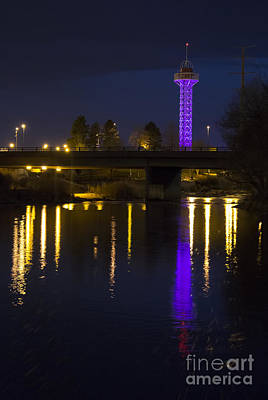 Photograph - Bridge And Ride by Steven Parker