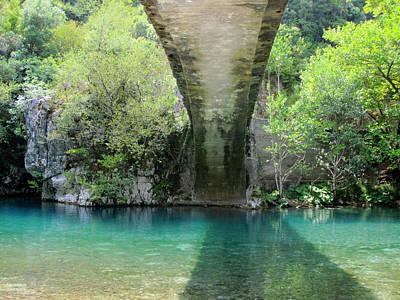 Photograph - Bridge And River by Alexandros Daskalakis
