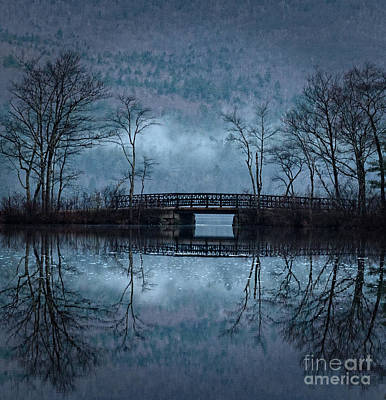 Bridge At Chocorua Art Print