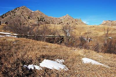 Photograph - Bridge At Mato Paha-bear Butte by Dakota Light Photography By Dakota