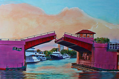 Bridge At Se 3rd Original by Deborah Boyd