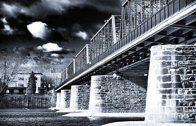 Photograph - Bridge Blues by John Rizzuto
