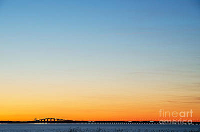 Photograph - Bridge By Amazing Sky by Kennerth and Birgitta Kullman