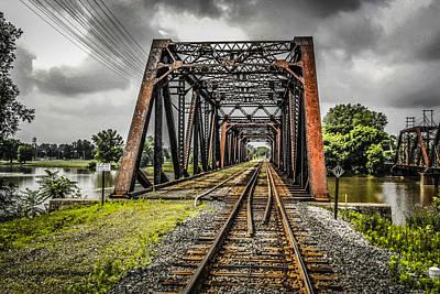 Bridge Art Print by Chris Smith