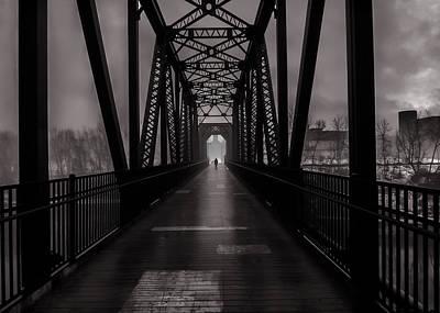 Photograph - Bridge Crossing by Bob Orsillo