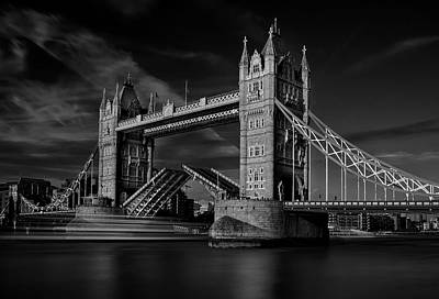 Tower Bridge London Photograph - Bridge by C.s. Tjandra