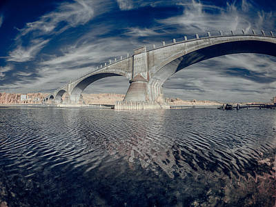 Photograph - Bridge Curvature In Color by Greg Nyquist
