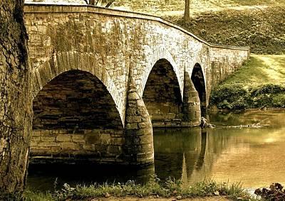David Bowman Photograph - Bridge by Julia and David Bowman