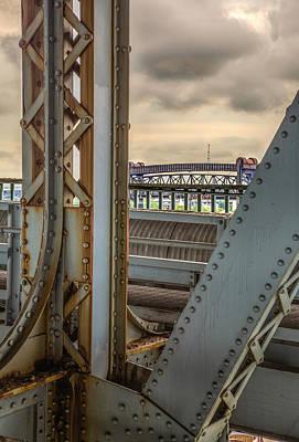 Rivets Photograph - Bridge Details by Dale Kincaid