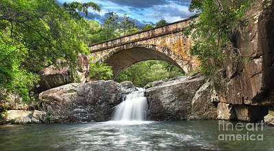 Photograph - Bridge Falls by Shannon Rogers