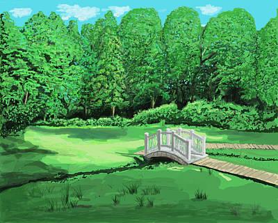 Digital Art - Bridge by Good Taste Art