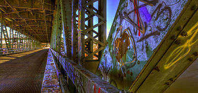 Photograph - Bridge Graffiti by Don Wolf