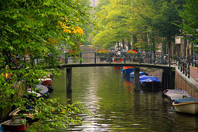 Photograph - Bridge In Amsterdam by Celso Diniz