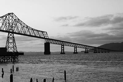 Photograph - Bridge In Black And White by Angi Parks