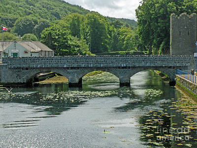 Photograph - Bridge In Ireland by Brenda Brown