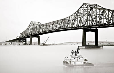 Bridge In Morning Fog Original