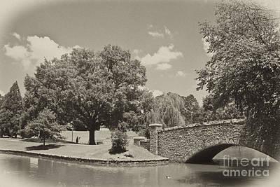 Photograph - Bridge In Sepia Tones by Jill Lang
