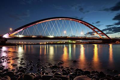 Macarthur Wall Art - Photograph - Bridge In Taiwan by Fu-min Yang