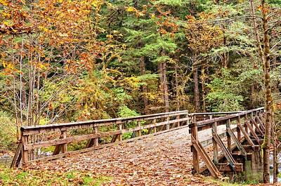 Stellar Interstellar - Bridge In The Fall by Image Takers Photography LLC - Laura Morgan