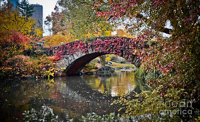 Photograph - Bridge In The Fall by Stacey Granger