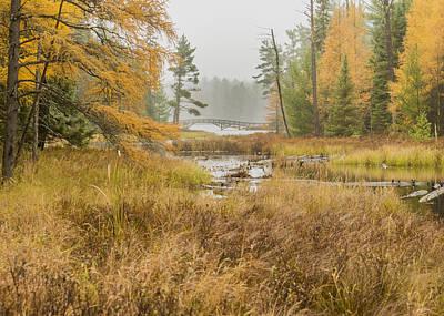 Photograph - Bridge In The Mist by Christopher Burnett