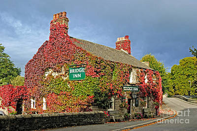 Photograph - Bridge Inn At Calver by David Birchall