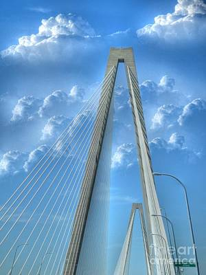 Photograph - Bridge Into Charleston by Kathy Baccari