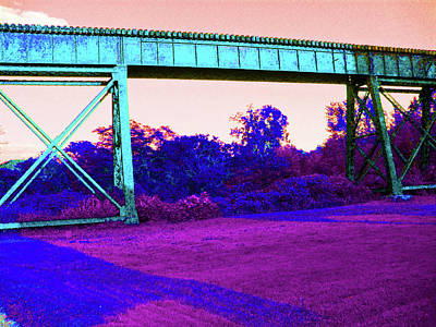 Abstract Photograph - Bridge by J Andrel