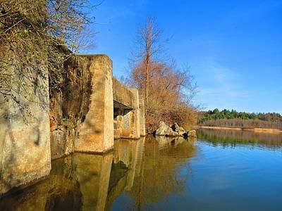 Photograph - Concrete Trestle Bridge by MTBobbins Photography
