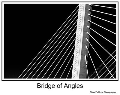 Photograph - Bridge Of Angles by Tikvah's Hope