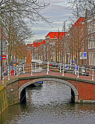 Photograph - Bridge Of Delft by Elvis Vaughn