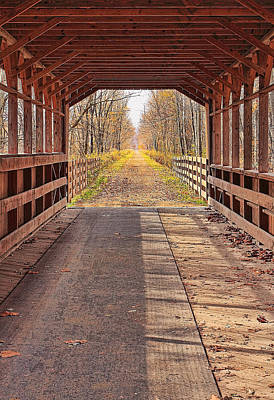 Midwest Photograph - Bridge Of Dreams by Marcia Colelli