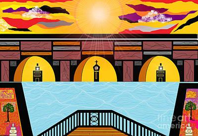 Painting - Bridge Of Hope by Lewanda Laboy