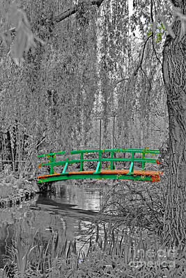 Photograph - Bridge Of Monet by Elvis Vaughn