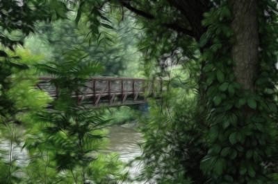 Photograph - Bridge Of Serenity by Rhonda Barrett