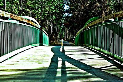 Photograph - Bridge Of Shadows by Tyson Kinnison