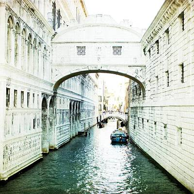 Photograph - Bridge Of Sighs - Venice by Lisa Parrish