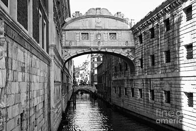 Photograph - Bridge Of Sighs by John Rizzuto